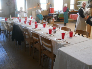 Passover Table Preparation