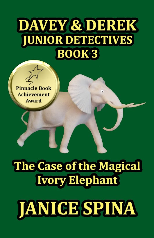 Goodreads Giveaway of Book 3 of Davey & Derek Junior Detectives Series  – The Case of the Magical Ivory Elephant!