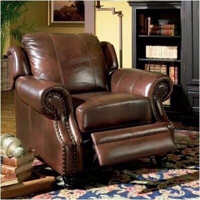 Broyhill Fireside Sofa Chair Cherry Floral 4671 Wood