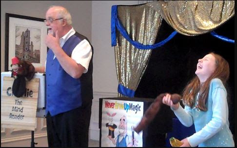 Magician Stephen Spanks Lawrenceville, GA - Comedy Magic, Stage Magic, General Magic, Close-up Magic