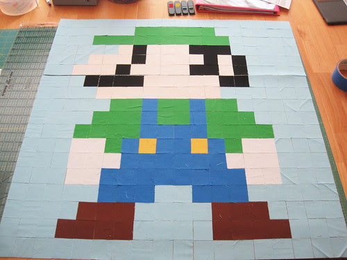 Super Mario Brothers QAL Block 2