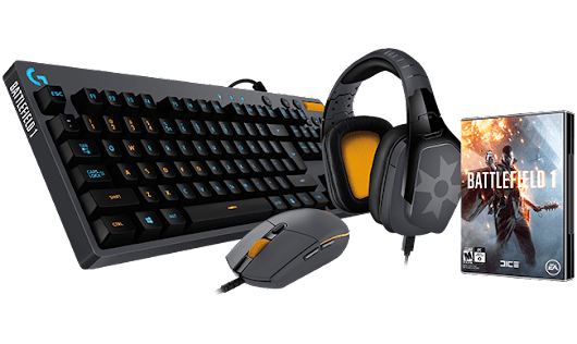 Logitech G Battlefield 1 Edition Bundle Giveaway!
