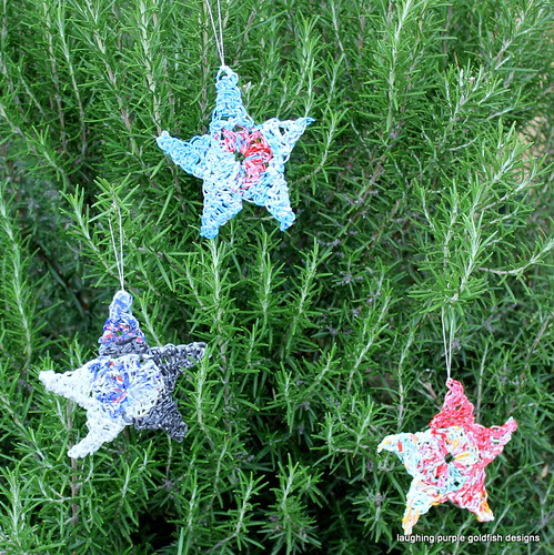 Recycled Christmas Stars