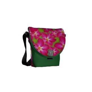 Desert Rose Collage Mini Messenger Bag