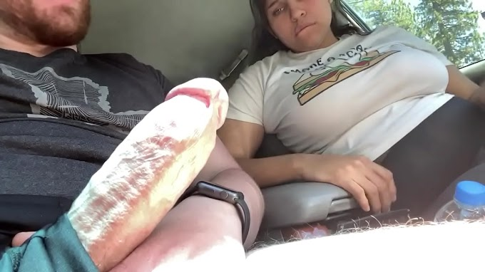 Almost getting caught while getting my cock sucked