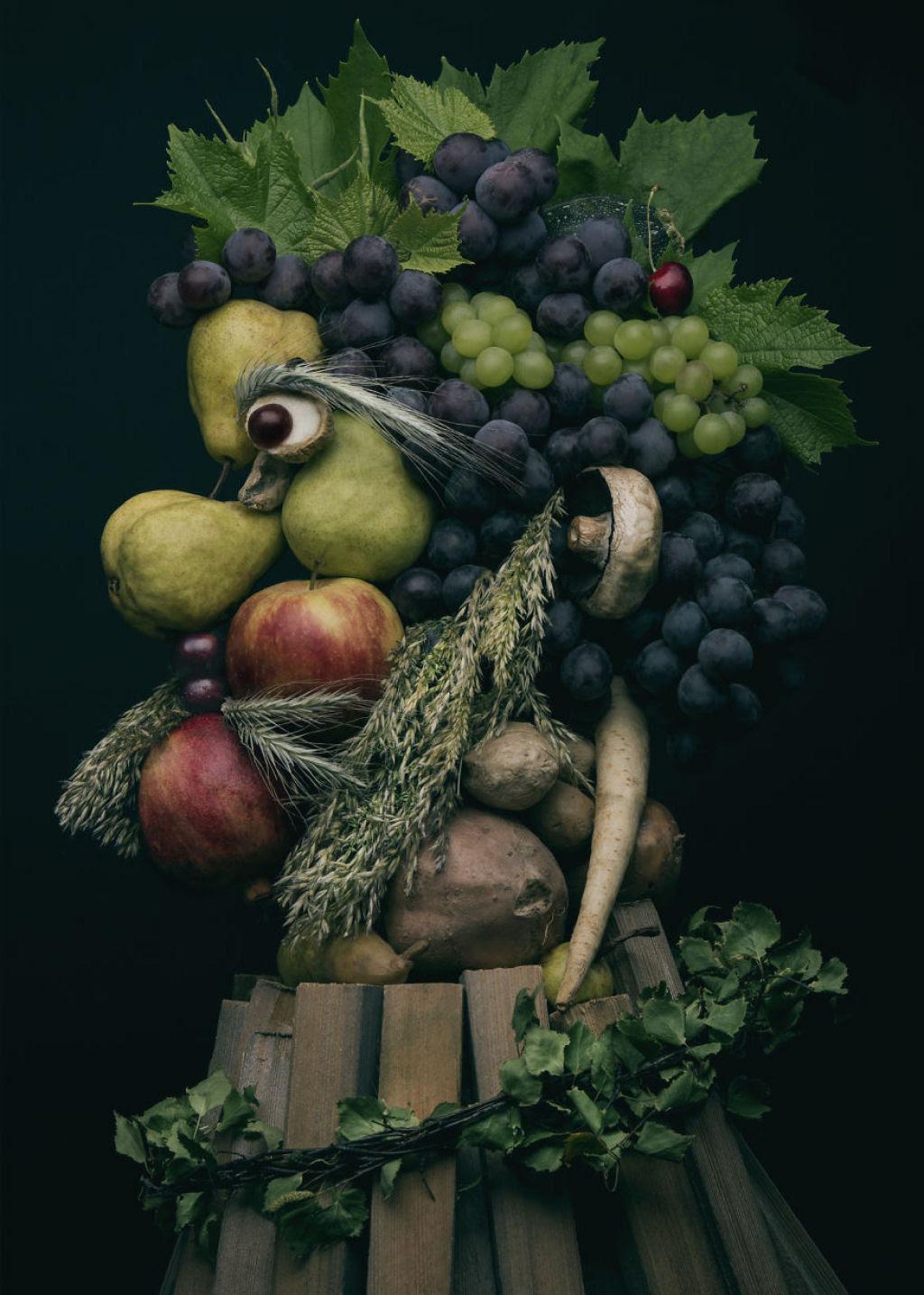 Artista polonesa cria uma incrível coleção inspirada na arte de Giuseppe Arcimboldo 08