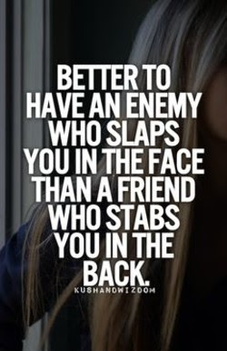 Quotes About Stabbed In The Back 33 Quotes