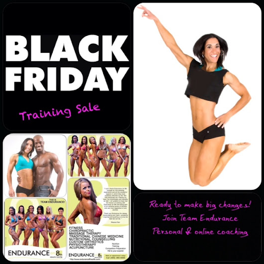 Black Friday Training Sale At Endurance on 8th!