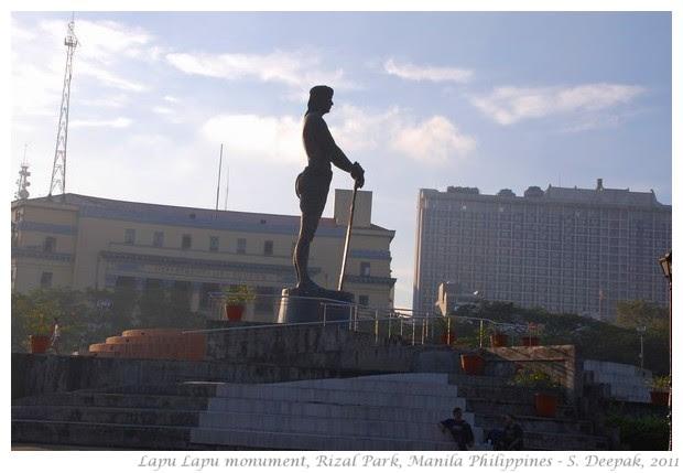 Lapu Lapu monument, Rizal Park, Manila - S. Deepak, 2011