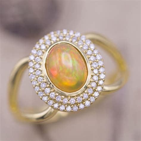 Opal Engagement Rings   CustomMade.com