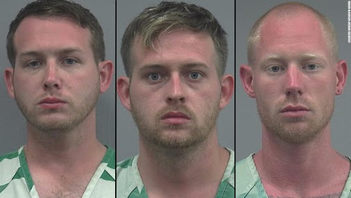 [more #LosersWithGuns] Police: 3 men made Nazi salutes, shot at protesters after Richard Spencer event...