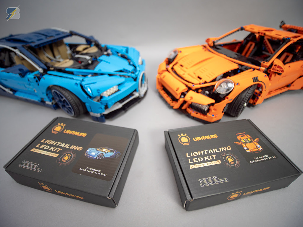 Light Kits By Lightailing For Lego Technic 42083 Bugatti