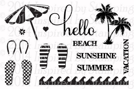 Inspired by Stamping Summer Fun Stamp Set