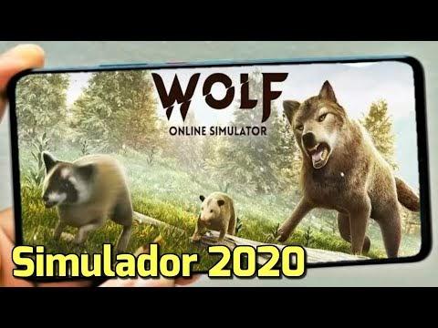 Novo Jogo Simulador de Lobo Incrível (Android e IOS ) - The Wolf