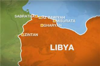 Areas in the North African state of Libya that are under threat by monarchists and CIA-financed counter-revolutionaries. Gaddafi addressed the country on March 2, 2011 saying the U.S. imperialists face a bloody war if they invade the country. by Pan-African News Wire File Photos