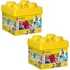 Lego 10692 Classic Creative Bricks Kids 221 Piece Building Box Set (2 Pack)