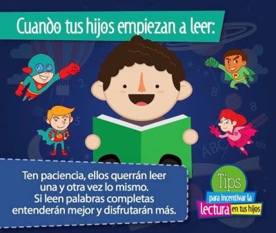 TIPS para incentivar la lectura en tus hijos e hijas (4)