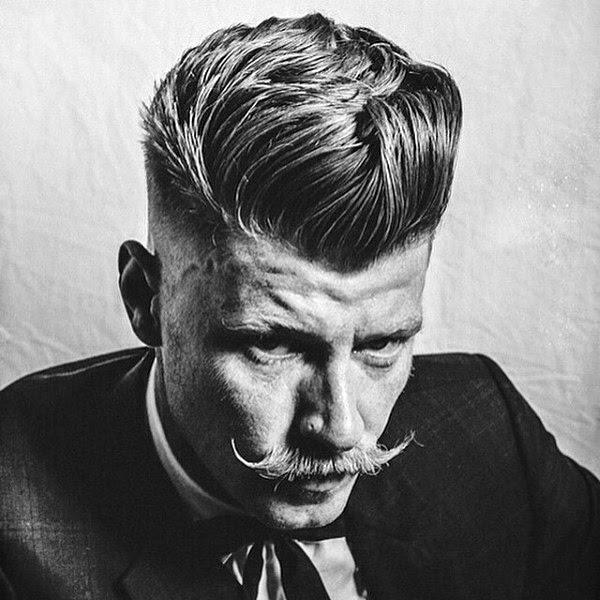 Old School Frisuren Für Mittellanges Haar Für Männer Kunstopde
