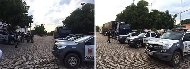 Ao todo, participam da moperação 120 policiais.  (Foto: Divulgação/PM)