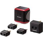 Samsonite - Converter/Adapter Kit - Red/Black