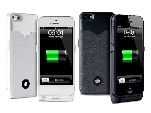 Puro Battery Bank Cover iPhone 5