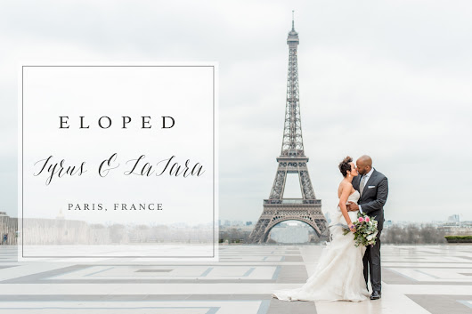 Bucket List Item: Shoot a Wedding in…PARIS