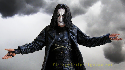 Happy Halloween! NECA Cult Classics Eric Draven from The Crow