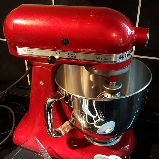 Shiny New KitchenAid #KitchenAid - Shell Louise