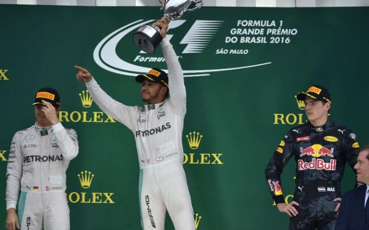 Hamilton wins his first Brazilian Grand Prix