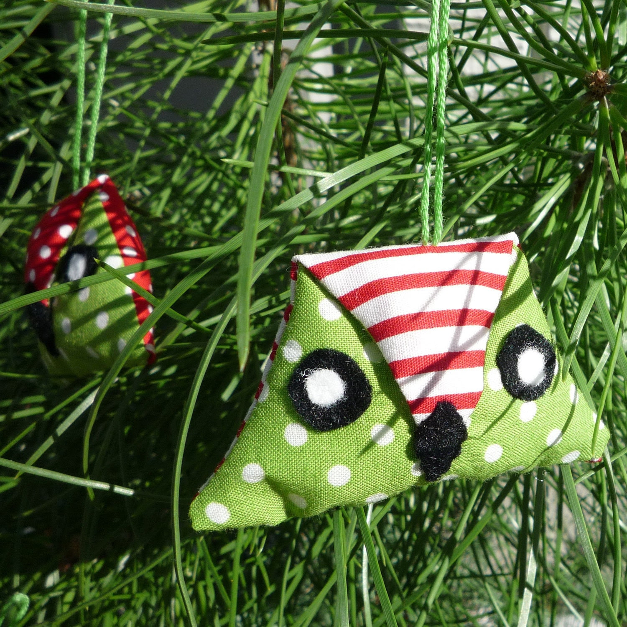 Festive Owl Decoration