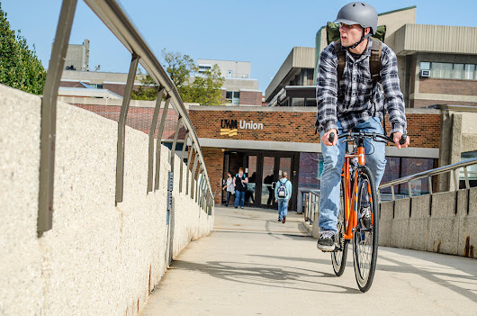 Ride Your City: UW Milwaukee Bike Photo Shoot