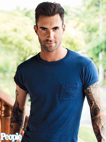 Adam Levine : People's Sexiest Man Alive 2013 photo adam-levine-435.jpg