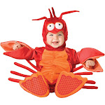 Lil Lobster Infant / Toddler Costume - 13750 - Red - 6/12 Months