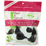 Made In Nature, Fig Blk Mission Org - 8 Ounce - PACK OF 12