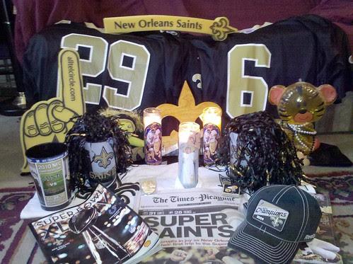 Superbowl Altar