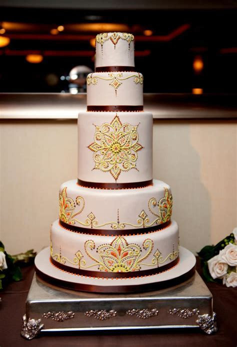 Moroccan Style Wedding Cake   cake by Very Unique Cakes by