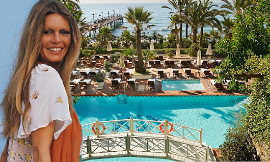 Just the rich and famous at the Spanish honeypot The Marbella Club