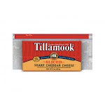 Tillamook Sliced Sharp Cheddar Cheese, 2 Pound - 12 per case.