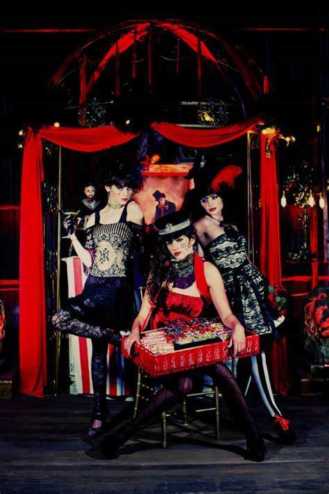 A Dark Circus Inspiration Shoot · Rock n Roll Bride