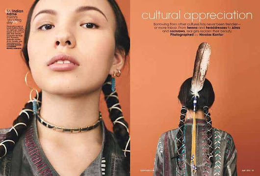 Teen Vogue Celebrates Cultural Appreciation, Not Appropriation