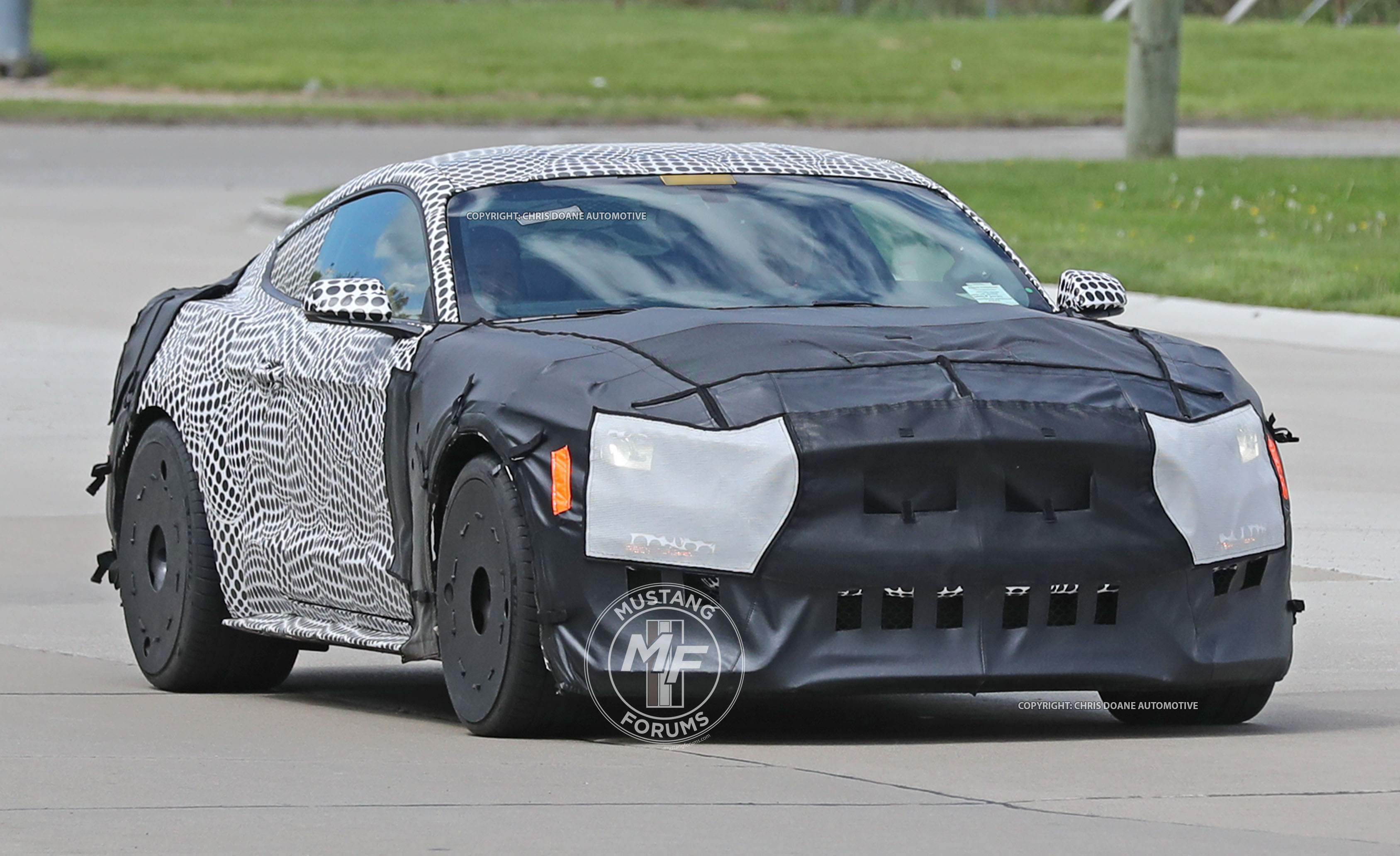 2019 Ford Mustang Gt500 Full Prototype Caught In The Wild Mustangforums