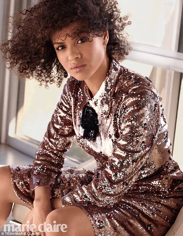 Hollywood's hottest young actress: GuguMbatha-Raw has shone in movies such as Concussion and Belle, and will soon be seen in the live action version of Beauty And The Beast