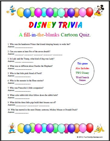 Trivia Games are a fun way to show off your smarts.