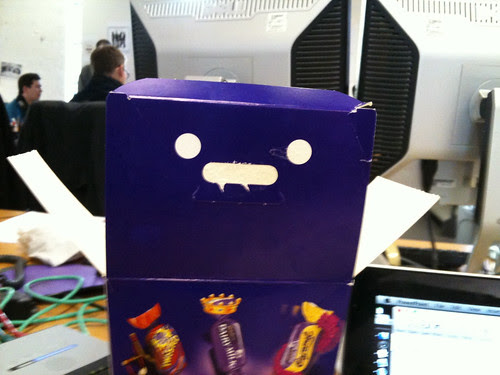Hello little chocolate box fella!