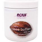 Cocoa Butter Pure By Now Foods - 7 Oz