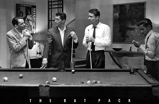 Frank Sinatra Poster The Rat Pack Pool