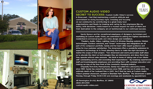 Sandy Benson Shares Her Secret To Success At Custom Audio Video