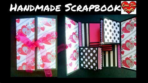 handmade scrapbook diy scrapbook idea youtube