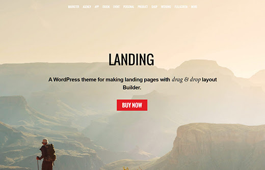 9 Best Landing Page WordPress Themes for 2016
