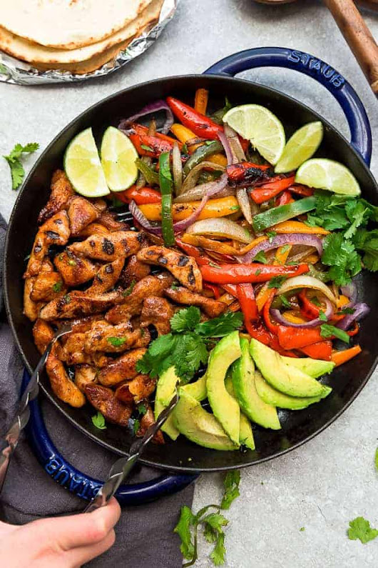 Low Carb Chicken Fajitas - Skillet or Grill - Life Made Sweeter